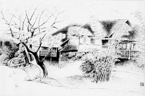 达州市首届钢笔画展作品集 选登